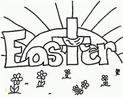 Happy Easter Signs Coloring Pages Free Printable Easter Coloring