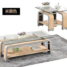 get ations modern minimalist fashion multicolor optional office coffee table glass tea table continental passenger hall creative style