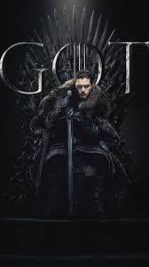jon snow game of thrones season 8 poster iphone 7 6s 6 plus pixel xl one plus 3 3t 5