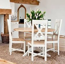 small white kitchen table set circle dining table set chic round dining tables and chairs sets