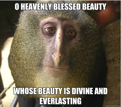 O heavenly blessed beauty whose beauty is divine and everlasting ... via Relatably.com