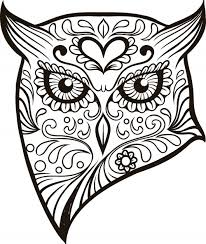Small Picture Printable Pictures Sugar Skull Coloring Pages 92 With Additional