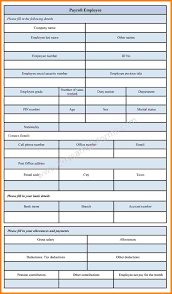 Payroll Forms Free 24 Employee Payroll Forms Free Download Samples Of Paystubs 13