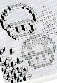 Graph Paper Fun By Utahdude Deviantart Com On Deviantart Drawing
