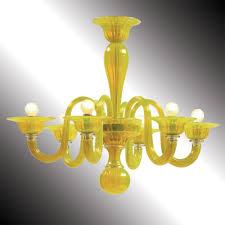 most recent limone yellow murano glass chandelier murano glass chandeliers with regard to glass