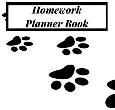 Weekly Homework Planner Homework Planner Book Undated Homework Planner Student