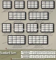 full size of garage doors commercial garage door sizes chart standard available and commercial garage