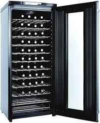 frigidaire wine cooler fwc527bws open