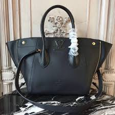 3a lv m54843 tote louis vuitton zipper real leather black handbag bag freedom