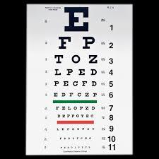 Dmv Eye Chart Distance Snellen Eye Chart