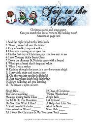 Christmas Carol Trivia - Christmas Cards