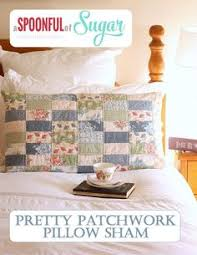 Mini Charm Patchwork Pillow | A Quilting Life - a quilt blog ... & Mini Charm Patchwork Pillow | A Quilting Life - a quilt blog | charms |  Pinterest | Patchwork pillow, Patchwork and Pillows Adamdwight.com