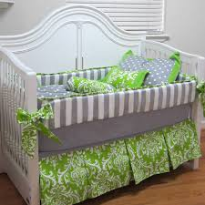 picture of summer spot 8 piece crib bedding set
