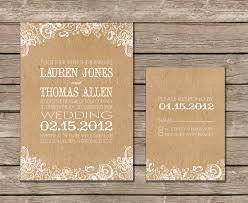 Buy paper for invitations Brown kraft card order of service booklets available from razzle dazzle rose