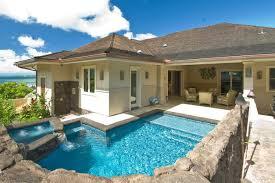hawaii home designs. the bay house tropical-pool hawaii home designs m