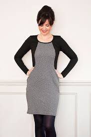 Sew Over It Patterns Magnificent The Ultimate Jersey Dress Heather Dress Sewing Pinterest