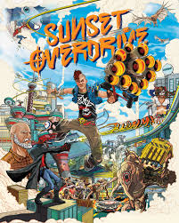 sunset overdrive box art by ilovedust insomniac games sunset overdrive keyart vert rgb final sunset boxart