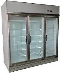 taiwan 3 glass door pharmaceutical refrigerator