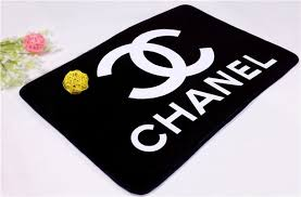 jewels chanel rug black