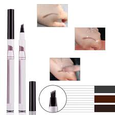 dels about patented microblading eyebrow tattoo pen waterproof fork tip sketch makeup ink