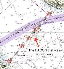Racon Chart Symbol Maritime Accidents Bay Bridge Meet Overseas Reymar