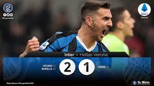 WATCH - Highlights Inter 2 - 1 Hellas Verona: Nicolo ...