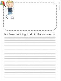 letter writing topic end of the year count down to summer writing journal writing