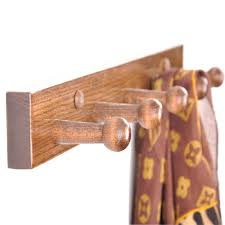 wood coat rack wall wooden peg wall mounted coat rack solid wood wall mounted coat rack