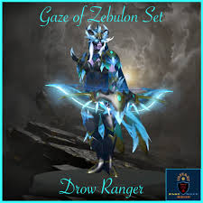Dota 2 Drow Ranger Gaze of Zebulon Set ...