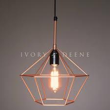 cage pendant light geometric modern minimalist canada wire bulb cage uk best design 2018