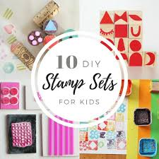 10 make your own stamp set ideas for kids