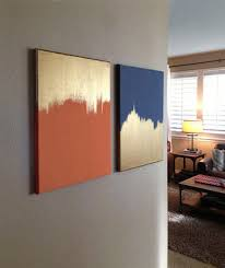 diy ideas gold and solid colored canvas
