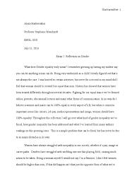 essay reflection on gender gender inequality ethnicity race essay 2 reflection on gender gender inequality ethnicity race gender