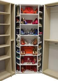 revolving walkin closet organizer by logical design concepts transitional walk in a45 walk