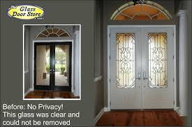 glass front doors privacy. Wrought Iron Entry Doors Glass Front Privacy T