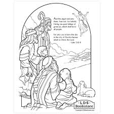 Once you download the packet. Shepherds Nativity Coloring Page Printable Christmas Coloring Page