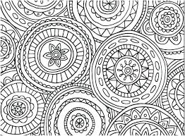 Easy Mandala Coloring Pages For Adults Flower Free Mandalas To Color