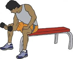 Image result for work out clip art