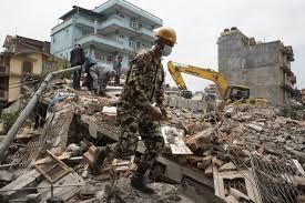 reels amid fears of aftershocks after earthquake wsj kathmandu 29 2015 a ese ier walks among the