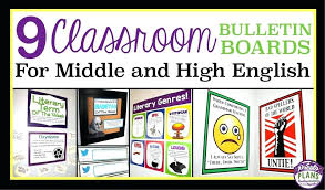 full size of high school english teacher classroom decorations bulletin board ideas for middle worksheets marvellous