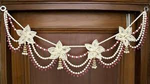 Images Of Designer Torans Latest Pearl Beads Toran Design New Toran Beautiful Door Hanging Ideas Decor Ideas