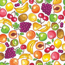 Fruit Pattern Beauteous Vector Fresh Fruit Seamless Pattern Graphics PNG Images Backgrounds