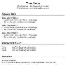 How To Get A Resume Do Job