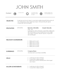 Resume Templates 101 resume template 100 Mayotteoccasionsco 1