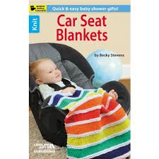 knit a car seat cover knitting pattern
