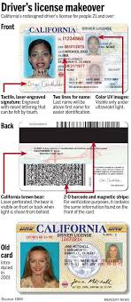 New – The Cards Licenses California Driver's Look Mercury Id News And For