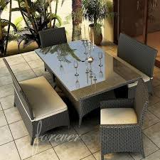 resin wicker patio furniture outdoor dining