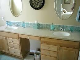 Bathroom Vanity Backsplash Ideas Beautiful Bathroom Vanity Ideas Amazing Tile Backsplash In Bathroom