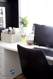 office decorator. Home Office Of Interior Decorator. Ikea Alex Desk And Tricorn Black Feature Or Accent Wall. Kylie M Interiors Colour Consulting Virtual E-design Decorator