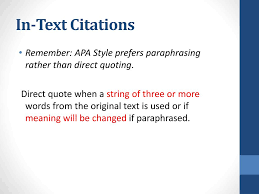 Ppt Apa Citation And References Powerpoint Presentation Id6679198